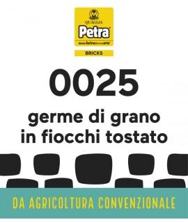 25 BRICK - GERME DI GRANO IN FIOCCHI TOSTATO