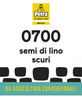 700 BRICK - SEMI DI LINO SCURI