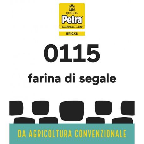115 BRICK - FARINA INTEGRALE DI SEGALE DA 5 KG
