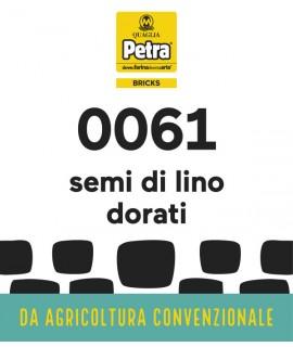 61 BRICK - SEMI DI LINO DORATI